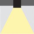 Grafik-Deckeneinbau-Halbeinbau