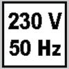 10a-icon-230V-50Hz